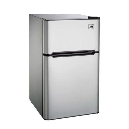 2 door mini fridge igloo 3 2 cu ft two door refrigerator and freezer