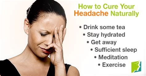 How to Cure Your Headache Naturally