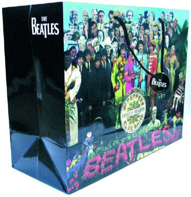 gifts for beatles fans large sgt pepper gift bag 3782 6 00 beatles gifts