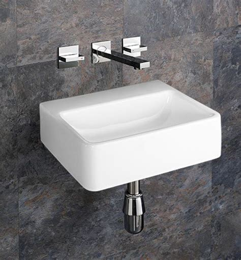 elana cm  cm wall mounted  tap hole rectangular
