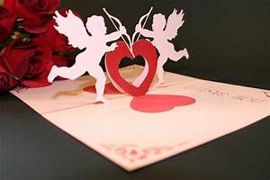 Valentine Greeting Card - Pop-up, It's Unique, Bolton