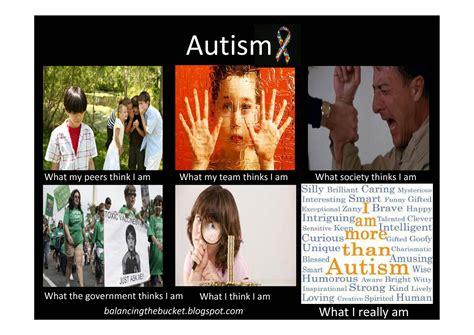 Autism Memes - balancing the bucket february 2012