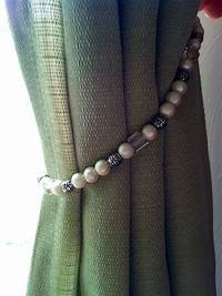 curtain tie back ideas How To Make Ribbon Tie Backs For Curtains | Curtain ...