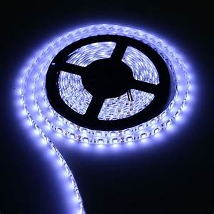 Led Stripes : 16ft long 300 led strip light roll white 12v flexible waterproof self adhesive ebay ~ Watch28wear.com Haus und Dekorationen