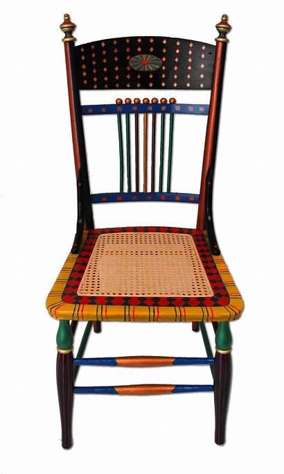Painted Chairs Whimsical Furniture Hand Wood Custom