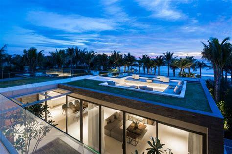 refroidir chambre villa design avec piscine sur le toit