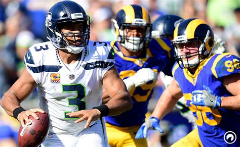 rams  seahawks betting odds  pick december