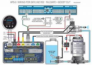 Nissan Skyline Wiring Diagrams To Hfs-3