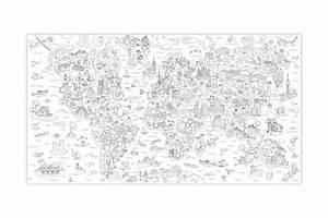 Weltkarte zum ausmalen for Poster zum ausmalen