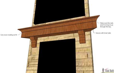 fireplace mantle diy fireplace mantel shelf tool belt