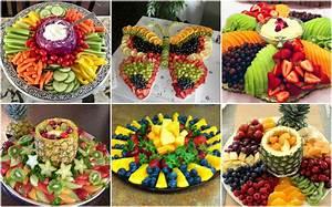 Leckere Obst und Gemüseplatten :) nettetipps de