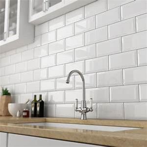 white metro tiles buy metro gloss white tiles victorian With kitchen colors with white cabinets with university of michigan face stickers