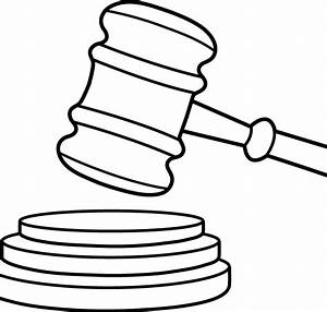 Judges Hammer Drawing