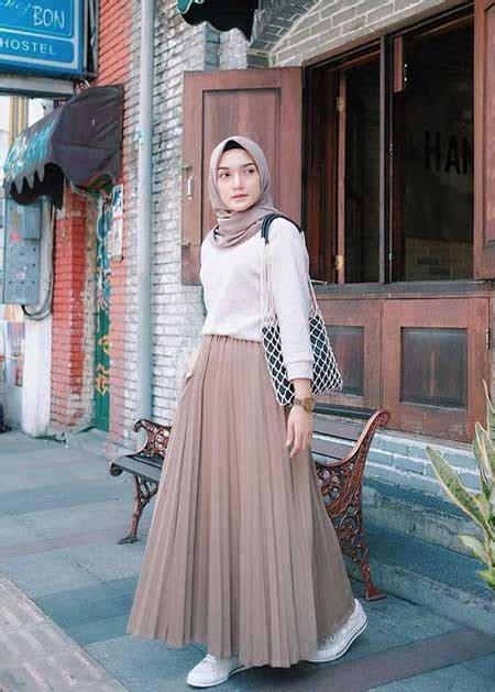 inspirasi ootd hijab terbaik  mudah  kamu tiru
