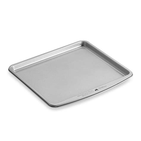 oven toaster sheet tray wilton inch baking bakeware baker electric which cooking kitchen bedbathandbeyond pans ours exclusively bath bed aluminum