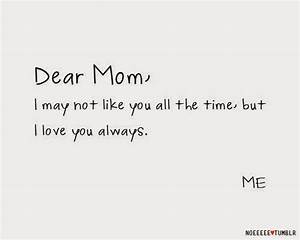 MOTHER DAY QUOTES FROM DAUGHTER TUMBLR image quotes at ...