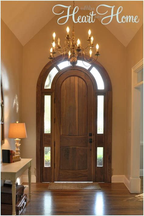 hometalk diy arched tudor door