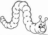 Caterpillar Coloring Pages Cartoon Clipart Printable Outline Hungry Drawing Cool2bkids Wonderland Alice Colouring Sheets Butterfly Animal Animals Getdrawings Caterpilla Printables sketch template