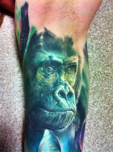 Tattoo Sleeve Men gorilla tattoos designs ideas  meaning tattoos 446 x 600 · jpeg