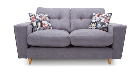 2 seater cuddler sofa dfs beckett grey fabric 4 2 seater sofa cuddler swivel