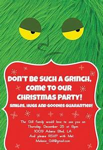 Create Invites Online Free Printable Dont Be A Grinch Christmas Invitation Template Free