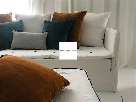 canapé sur mesure en ligne canape mila en froisse blanc realisations mobilier sur