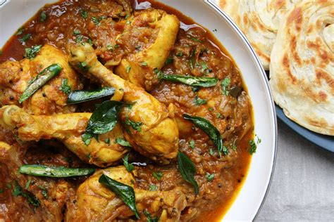 spicy keralan chicken curry indian recipes maunika