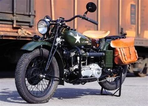 The Us Motorcycles Of Wwii