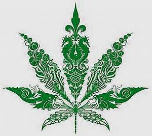 awesome drawn hemp leaf! | SpLeNdOrOuS WoRLD oF ...