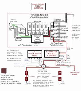 Camper Trailer Battery Wiring Diagram