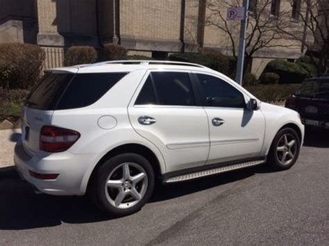 sell   mercedes benz ml white loaded