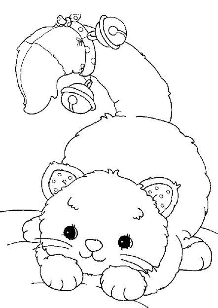dibujos  colorear de gatos dibujos infantiles de gatos
