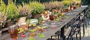 Herbst Dekoration Tisch : tisch dekorationen mit heide heidetrends ~ Frokenaadalensverden.com Haus und Dekorationen