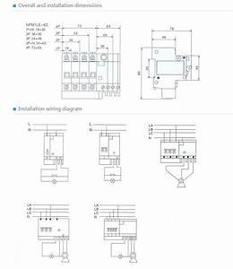 Rcbo Residual Current Circuit Breaker 16a Elcb Rccb Spm1le