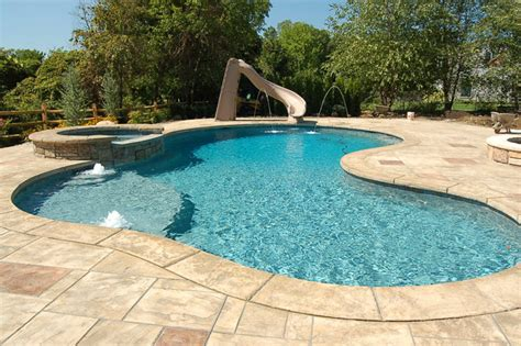 Rustic Stamped Concrete Patios, Pool Decks And Hardscapes