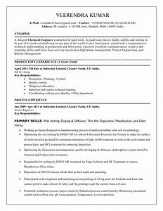 chemical resume With chemical engineering resume