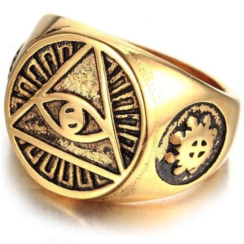 Illuminati Ring Illuminati Signet Ring Ancient Explorers