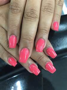 Acrylic Coffin Nails Shape