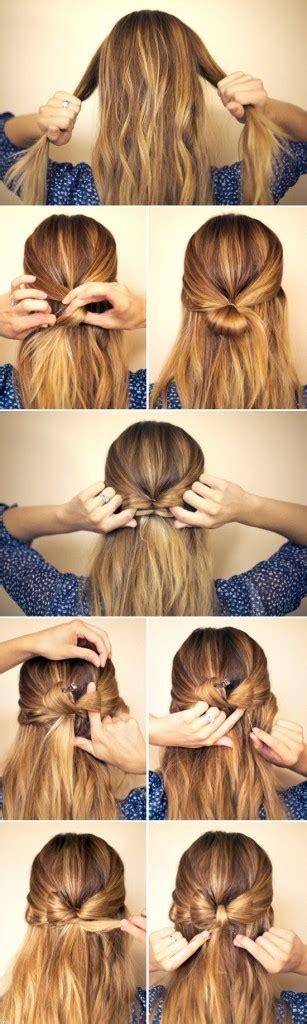 tutorials step by step hair diy hair bow step by step trend vogue Diy