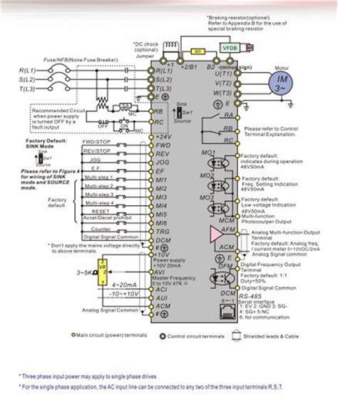 delta inverter vfd drive vfdba phase  kw hp