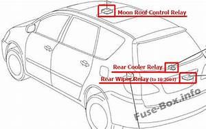 Fuse Box Diagram  U0026gt  Toyota Avensis Verso    Ipsum  2001