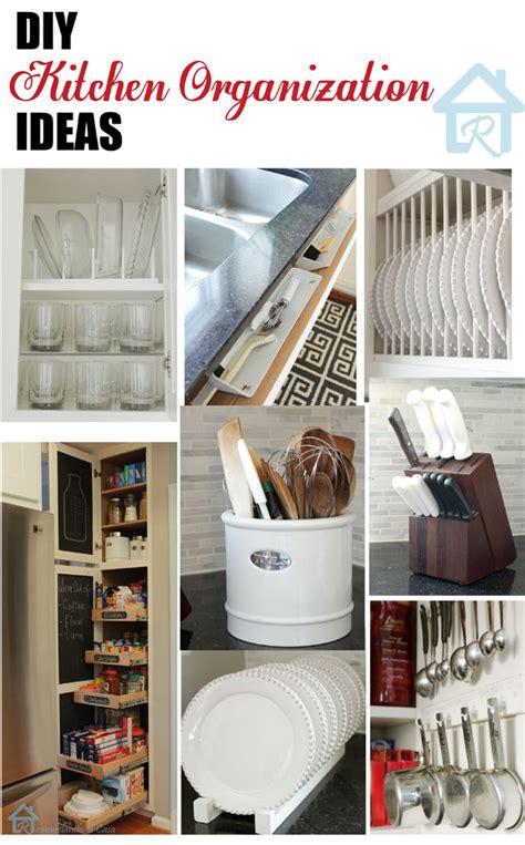 organized kitchen ideas remodelando la casa