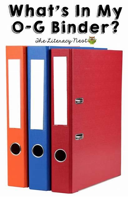 Gillingham Orton Binder Materials Folder Check Looking