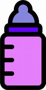 Baby Bottle Clipart - The Cliparts