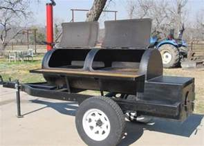 Commercial BBQ Smokers Trailers