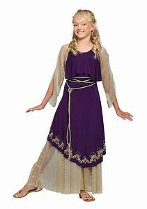 Aphrodite Goddess Costume for Girls