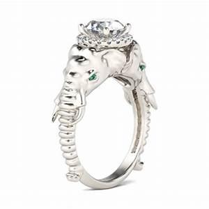 elephant wedding rings black rings With elephant wedding ring