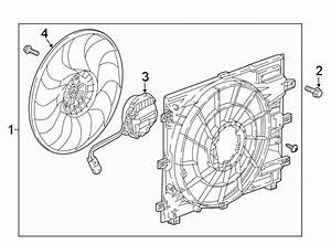 Chevrolet Equinox Engine Cooling Fan Assembly