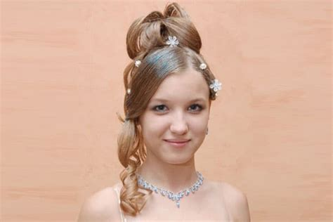 pretty quinceanera hairstyles