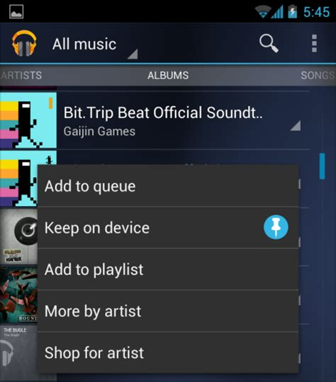 download music to
